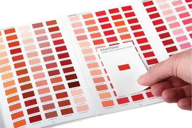 纺织印染常用的种标准色卡